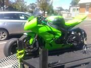 Kawasaki ZX6r Track Bike Middle Park Port Phillip Preview