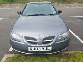 (04) PLATE, NISSAN ALMERA **1.5CC ** MOT APRIL 2018**