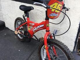 Child's bike. Dawes Thunder. Suit age 5+