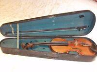 4/4 early 20th century German violin