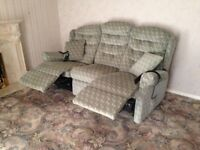 Adjustable chair, settee and armchair