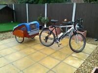 Bike trailer caravan