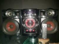 lg hi-fi with remote