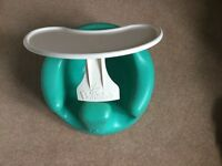 Baby Bumbo Seat with White Tray