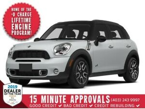 2014 MINI COOPER COUNTRYMAN *LEATHER, SUNROOF, 3M*