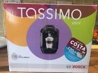 tassimo coffee machine black brand new in box