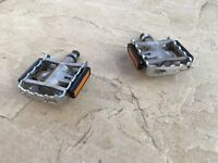 Shimano flat/spd pedals
