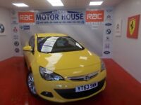 Vauxhall Astra GTC SRI(ONLY 9784 MILES AUTOMATIC) FREE MOT'S AS LONG AS YOU OWN THE CAR!! 2013