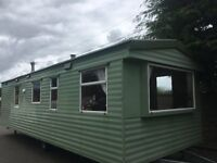 **BARGAIN THIS WEEK!** STATIC CARAVAN, MIDDLEMUIR HEIGHTS, SOUTH AYRSHIRE....**SITE FEES INCLUDED**