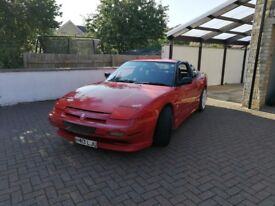 nissan 200sx s13 300bhp 12 month mot, many mods upto stage 3, regularly serviced and logged in book