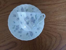 Wedgewood April Flowers Coffee Cup and Saucer - Unused. £9.99