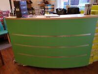lovely shop counter/reception desk