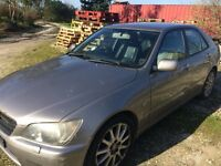 Lexus IS 200 LE (limited edition) 2004 needs mot and some repairs, great engine