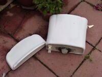 White Toilet Cistern