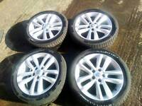 Vauxhall vectra c sri facelift alloy wheels £120 no offers( READ AD)