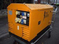 Stephill Generator Diesel Quite run model SSD9000 9KVA 110/240 volt £1900 or very near offer