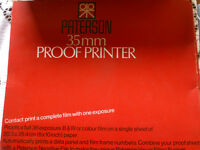 Paterson 35mm Proof Printer