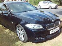 BMW 5 Series 520d M Sport (black) 2012