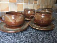 Handmade tea cup set