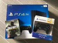 PlayStation 4 Pro + Call of Duty Infinite Warfare
