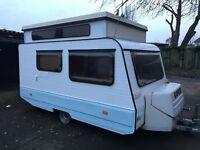 Rapido Pop Top 80's Caravan 3 Berth