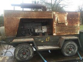 Diesel generator EXPORT swap 4x4 tractor