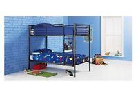 Brand New Black Single Shorty Bunk Beds