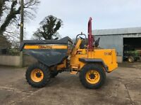 Dumper 10 ton Barford 2008 2914 hrs