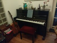 piano - upright, about 13 years old, great condition