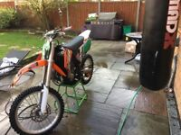 KTM 85 Big wheel not CR,KX or YZ