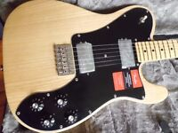 Fender new American Professional Series Telecaster Deluxe Shawbuckers natural ash body maple neck