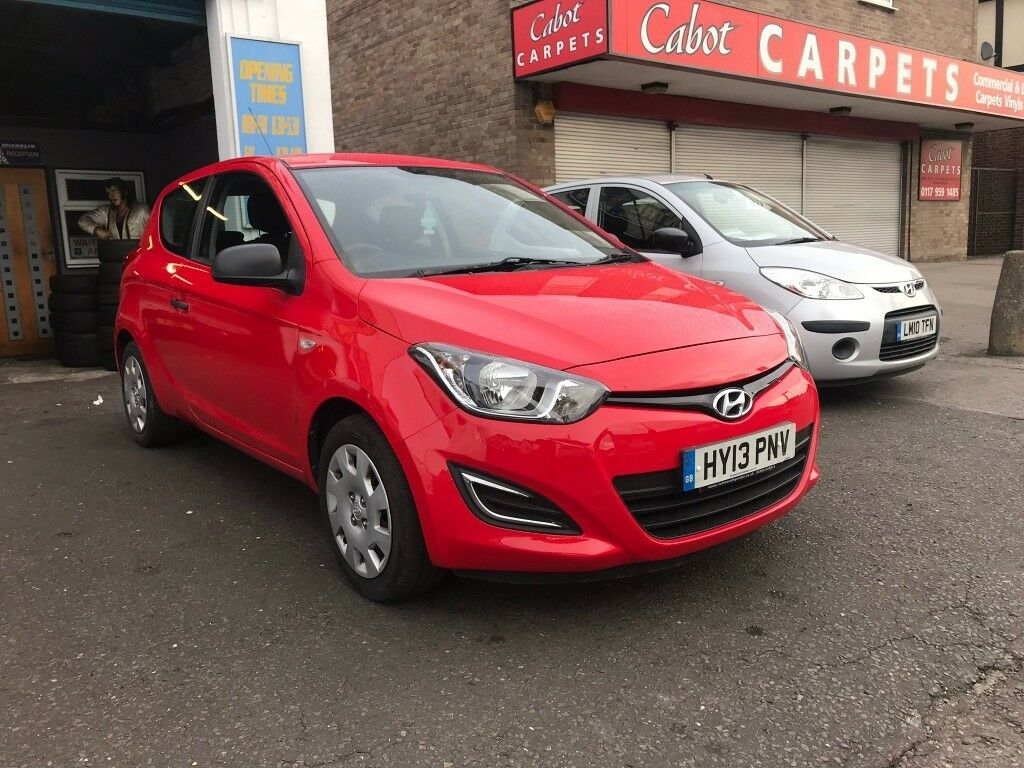Hyundai I20 Red 1.2 Petrol Manual 3 Door Hatchback 2013 Fantastic Car