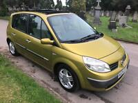 RENAULT MEGAN SCENIC 1.6 AUTOMATIC 2004 WITH PANROOF READY TO GO PX WELCOME