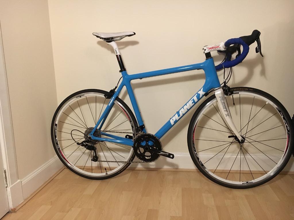 Planet X - Pro Carbon SRAM Rival Franko Bianco Road Bike - 56cm ...