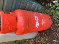 Propane Gas Bottle 19kg - half full