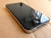 Apple iPhone 4 - 32GB - Black (O2) Smartphone. Perfect Working Order