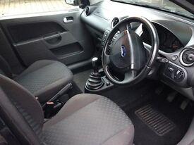 Ford Fiesta Zetec car 2002 four door hatch back.