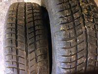 195 x 65 x 15 cooper winter tyres ( rover 75 rims )