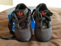 Kids adidas flux trainers