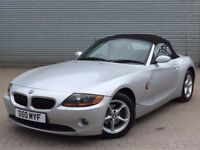 2003 BMW Z4, 2.5 CONVERTIBLE, AUTOMATIC, FULL SERVICE HISTORY WITH HEATED SEATS.
