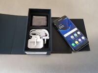 SAMSUNG S7 EDGE 32GB UNLOCKED GREAT CONDITION BOX SEALED ACCESSORIES