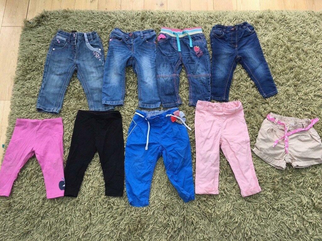 Large bundle 9-12 Months girls clothes MAJORITY NEXT