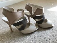 Faith - Gorgeous Peep Toe Sandals (Size 6)