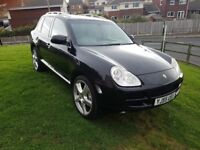 Porsche Cayenne 4.5 S with lpg conversion