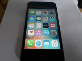Apple iPhone 4s - 16GB- Colour Black *** Network Unlocked