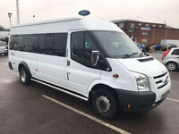 FORD TRANSIT 17 SEATER MINIBUS 2007 - LOW MILEAGE - EXCELLENT CONDITION - DRIVES FAULTLESSLY !!!!!!!