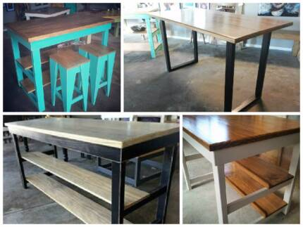 Kitchen Islands and Bar Tables (made to order) Salisbury Brisbane South West Preview