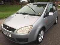 2005 FORD FOCUS C-MAX ZETEC MPV 1.6 PETROL ONE FORMER KEEPER LOW MILEAGE FULL SERVICE HISTORY