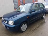 00 Nissan Micra 1.0 GX 3dr - MOT'd - 80,000 Miles - PX TO CLEAR