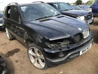 BMW X5 4.4 PETROL BREAKING SPARES PARTS LONDON ESSEX